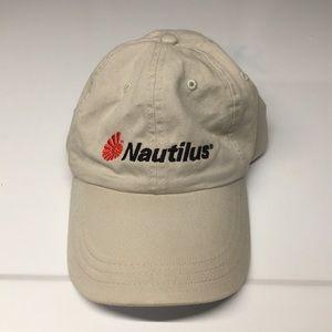 Nautilus tan ball cap